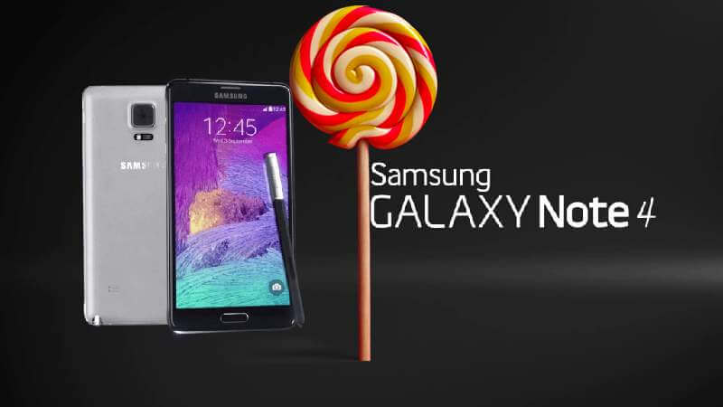 How to Update Galaxy Note 4 to XXU1COH4 Android 5.1.1