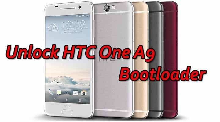 Unlock HTC One A9 Bootloader