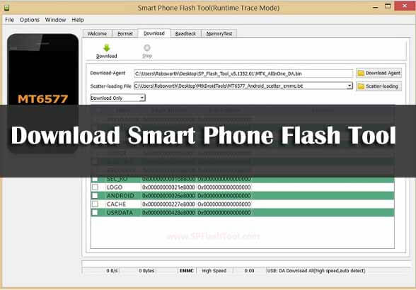 How to Flash MediaTek Stock ROMs With SP Flash Tool