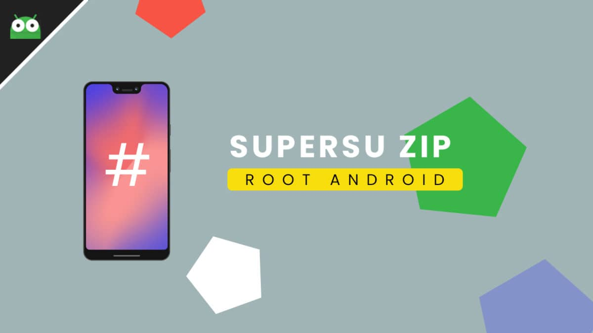 Guide To Install SuperSU using TWRP Recovery & Root Any Android device