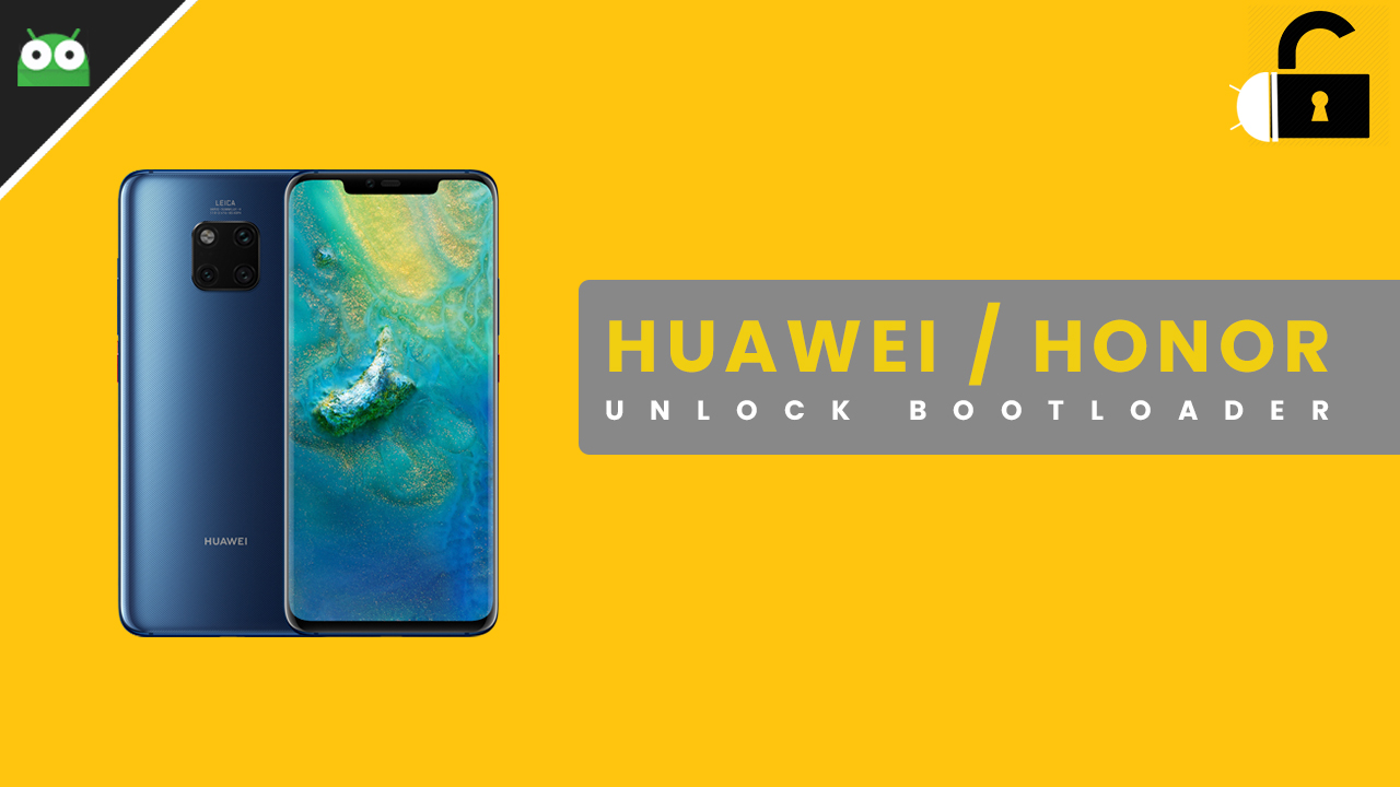 Working] Unlock Bootloader On Huawei and Honor Device (2019)