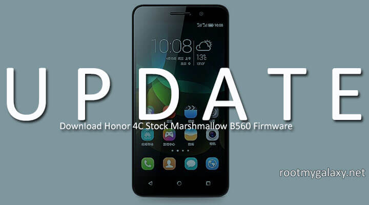 Download Honor 4C Stock Marshmallow B560 Firmware