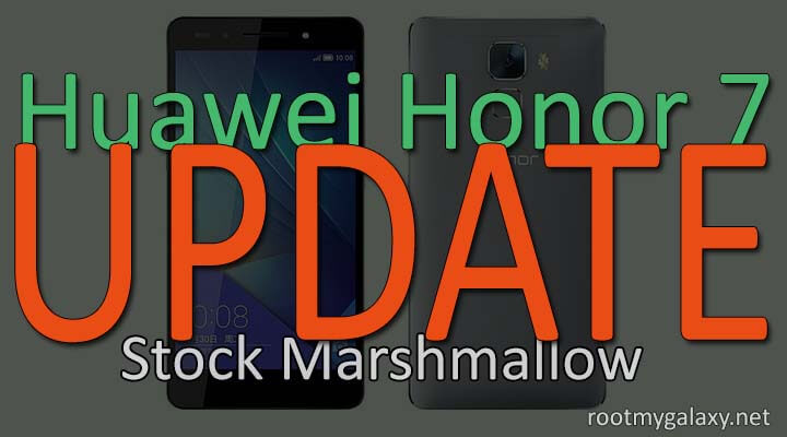 Download Honor 7 Stock Marshmallow B370 Firmware