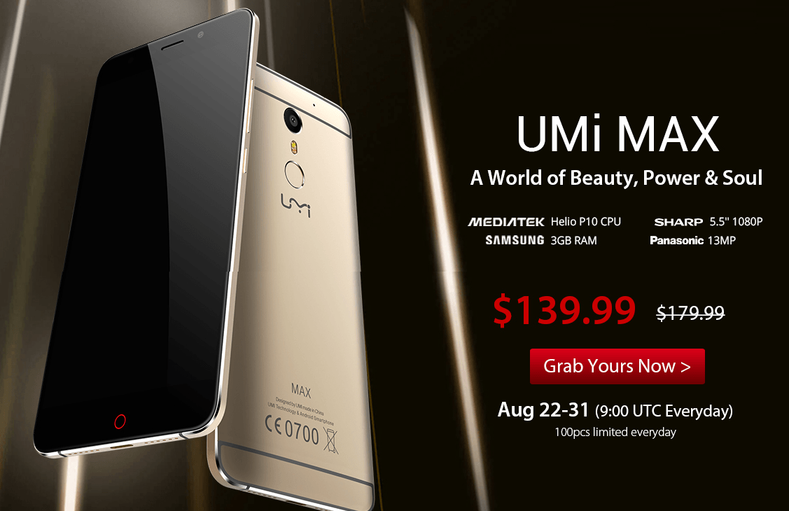 Umi Max Review & Flash Sale at Gearbest