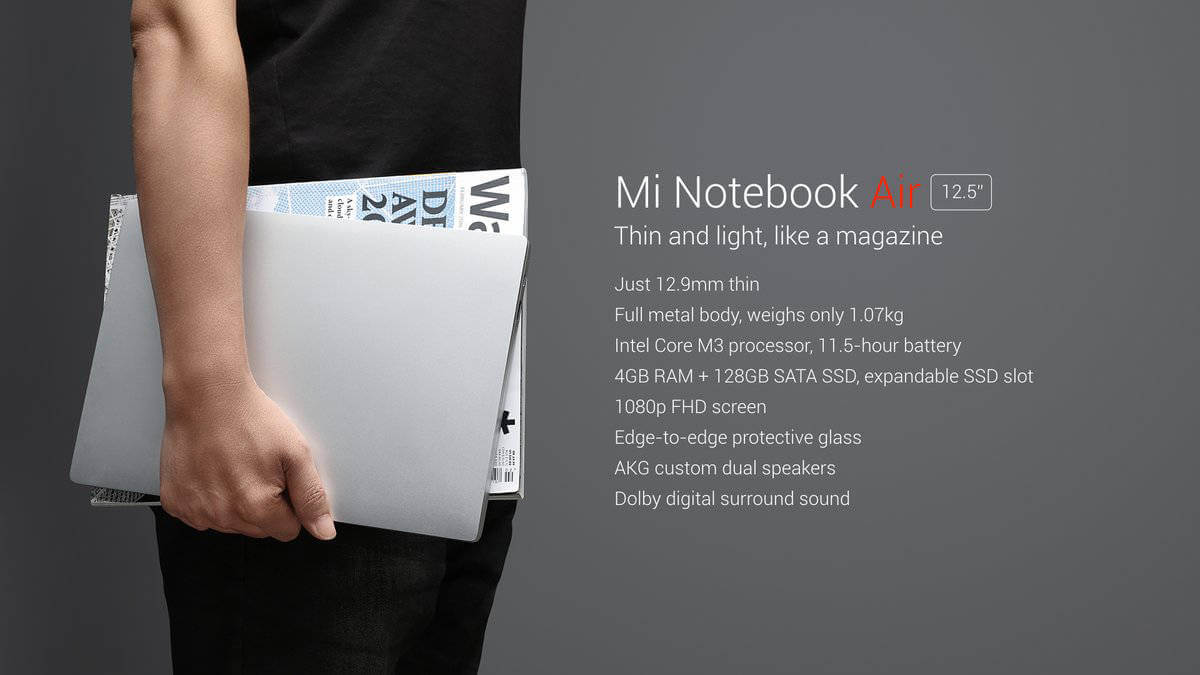 Xiaomi Air 12.5 Laptop
