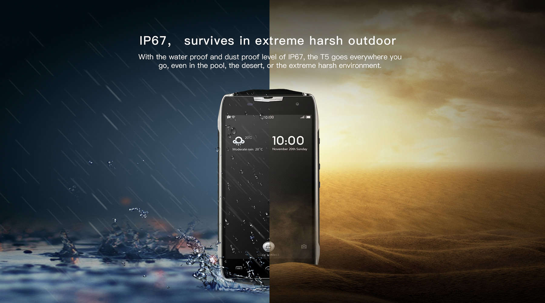 doogee-t5-built-water-proof