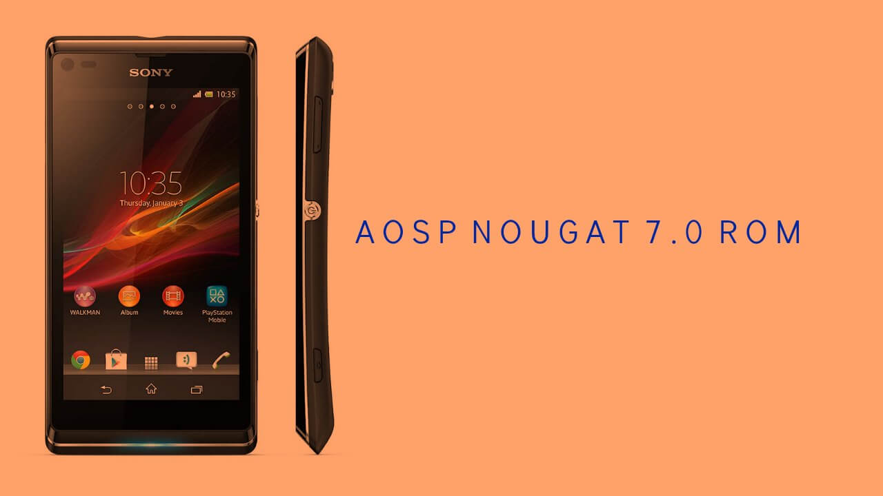Download & install cm13 rom sony xperia l android 6. 0. 1.