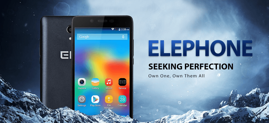 Elephone Brand Promotional Sale