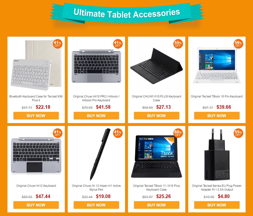 Intel For Homecoming Sale Ultimate Tablet Accessories