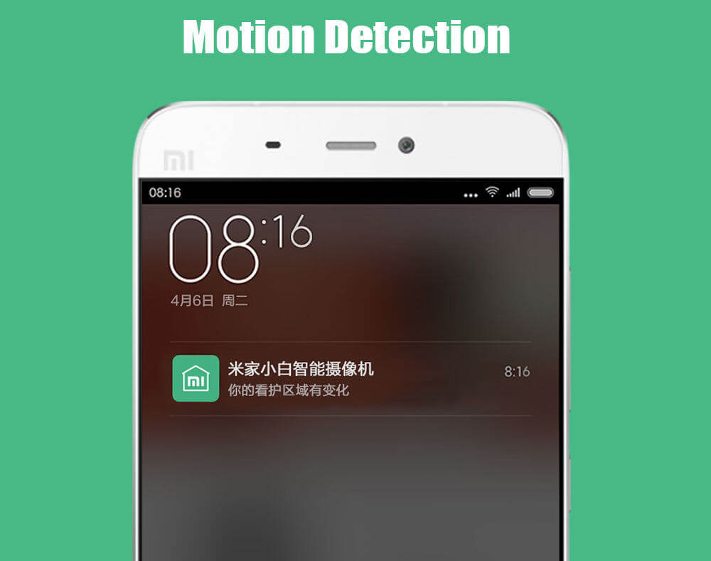 Mototion detection Xiaomi Web Cam