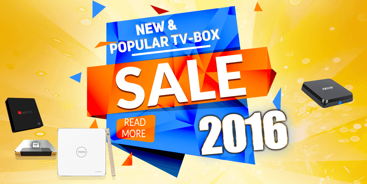 Gearbest Tv-Box Sale