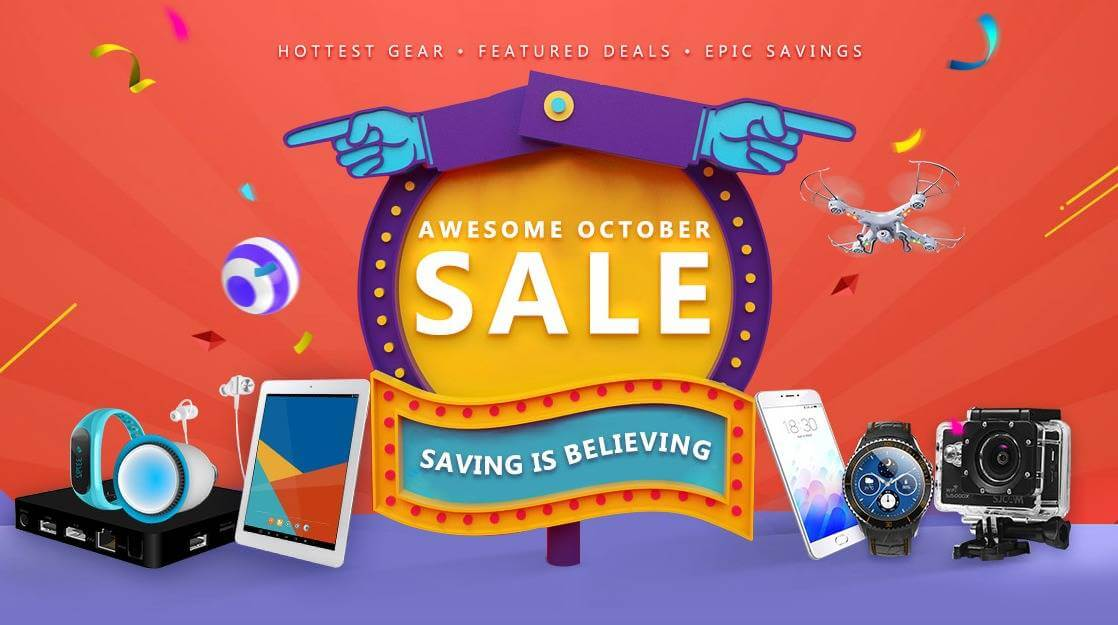 Gearbest's Hottest October Sale