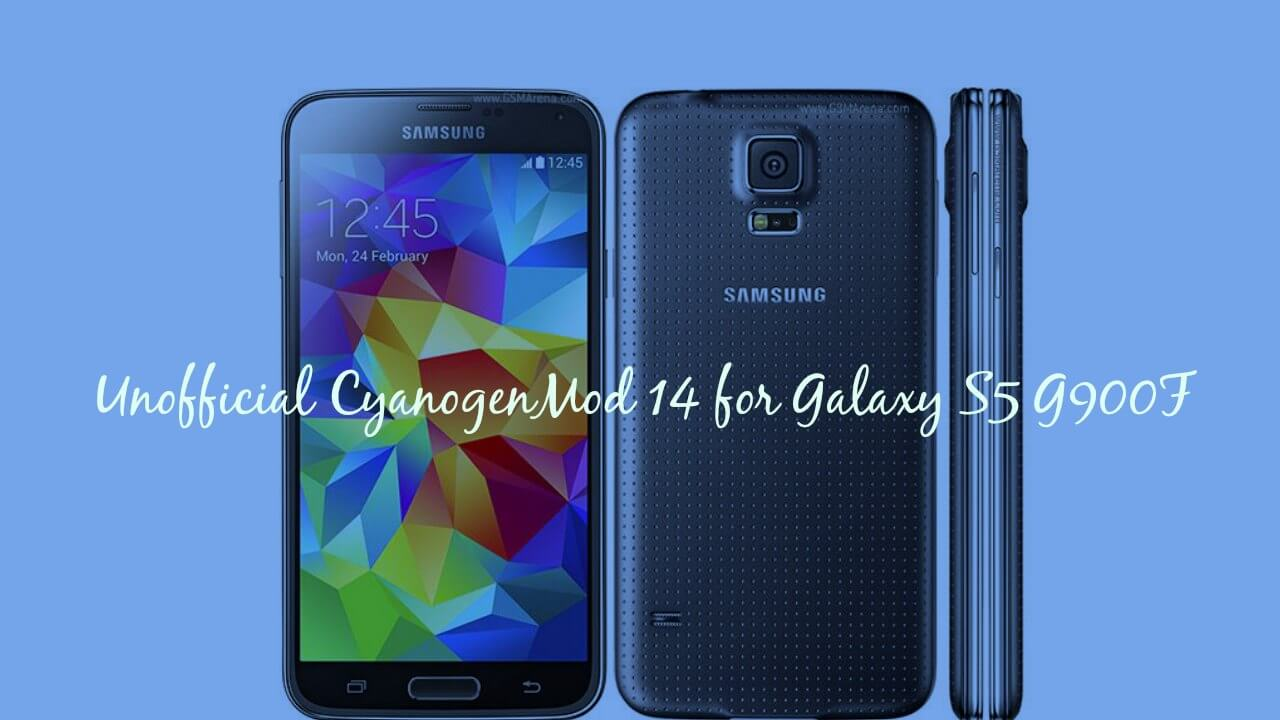 Download & Install CM14 Nougat ROM On Galaxy S5 G900F