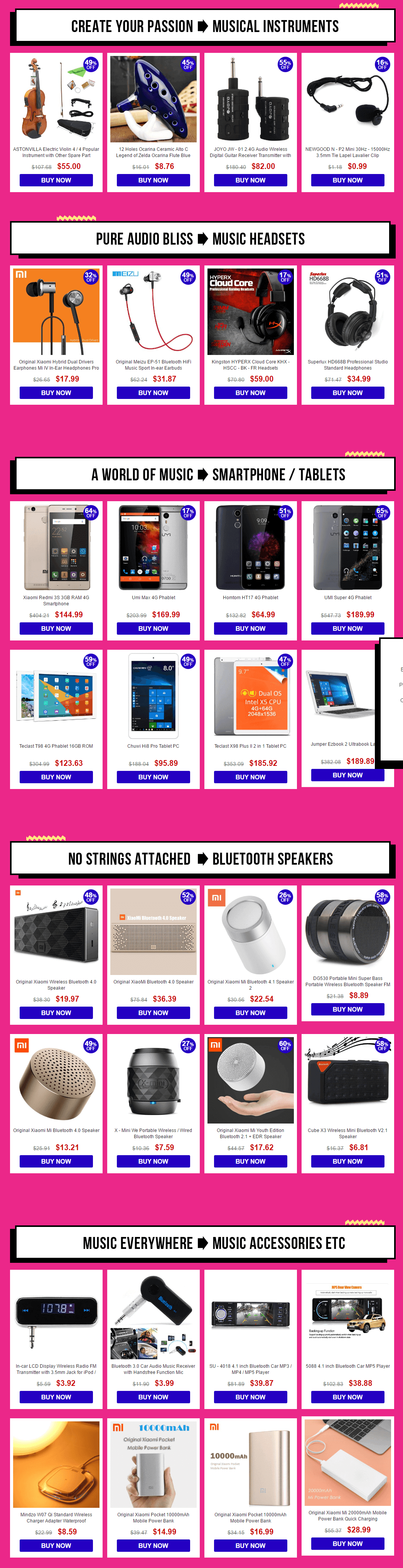 international-music-festival-tech-sale-prducts-list