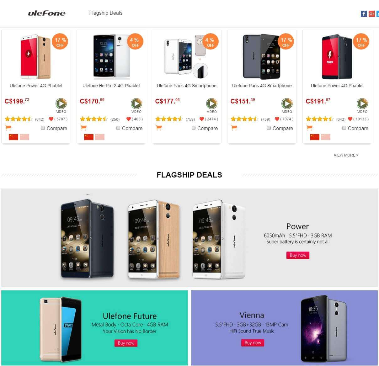 products-list-ulefone-brand-store-promotional-sale-1