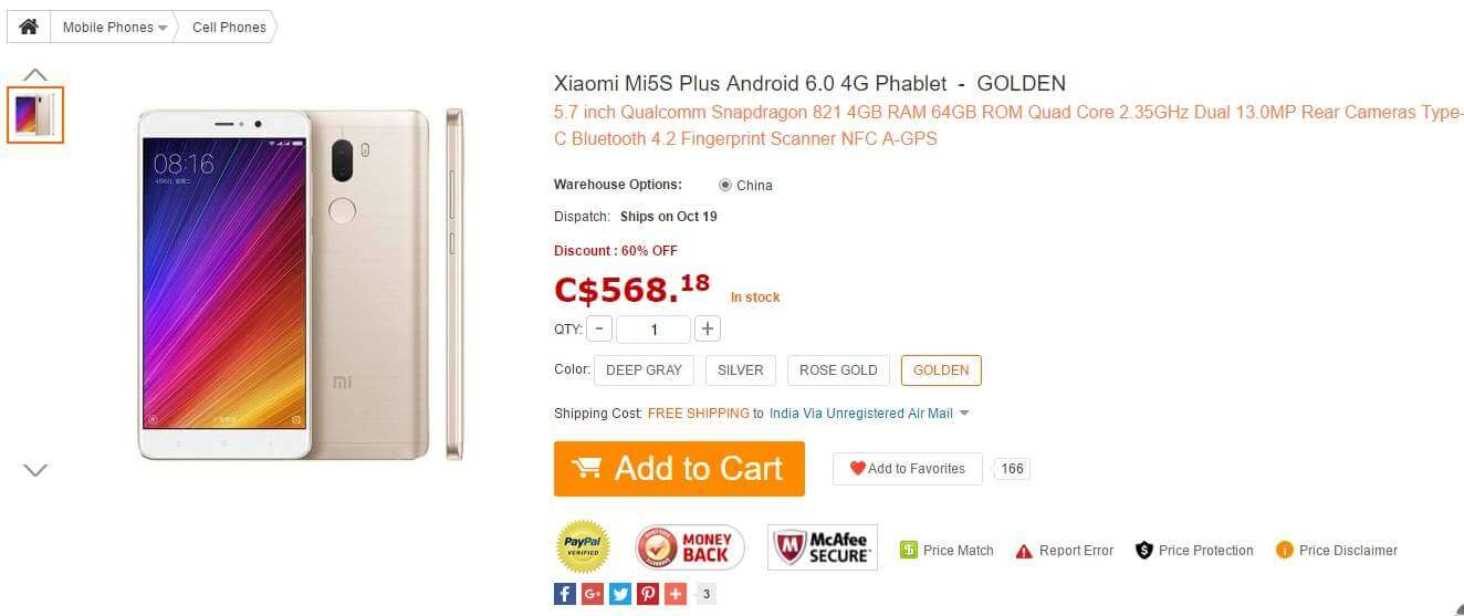 xiaomi-mi5s-plus-android-6-0-4g-phablet-426-69-online-shopping-gearbest-com-1
