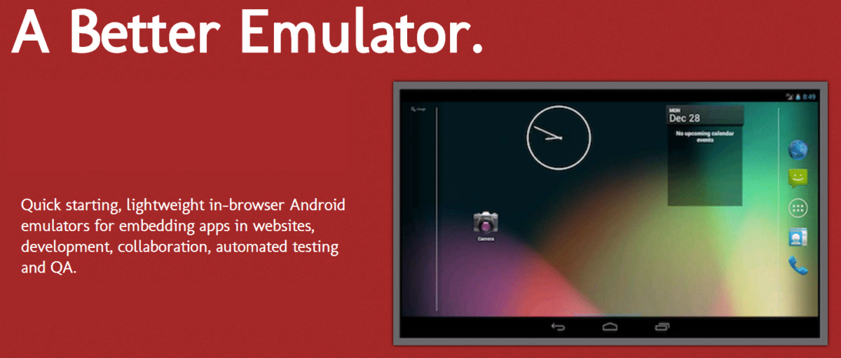 lightest android emulator for win 10