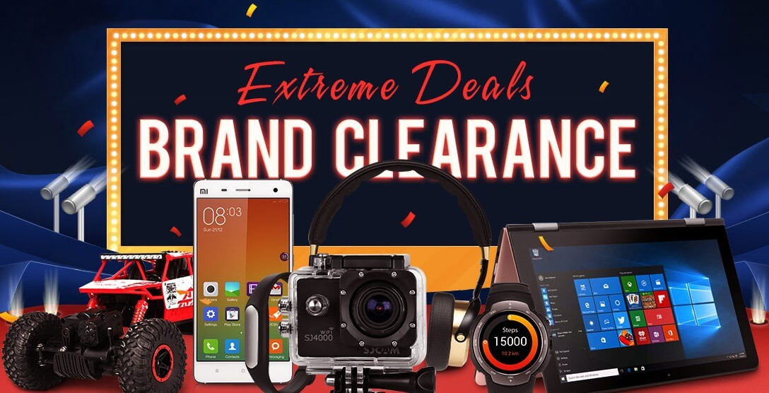 Gearbest's Brand Clearance Sale 2016 (Extreme Deals)