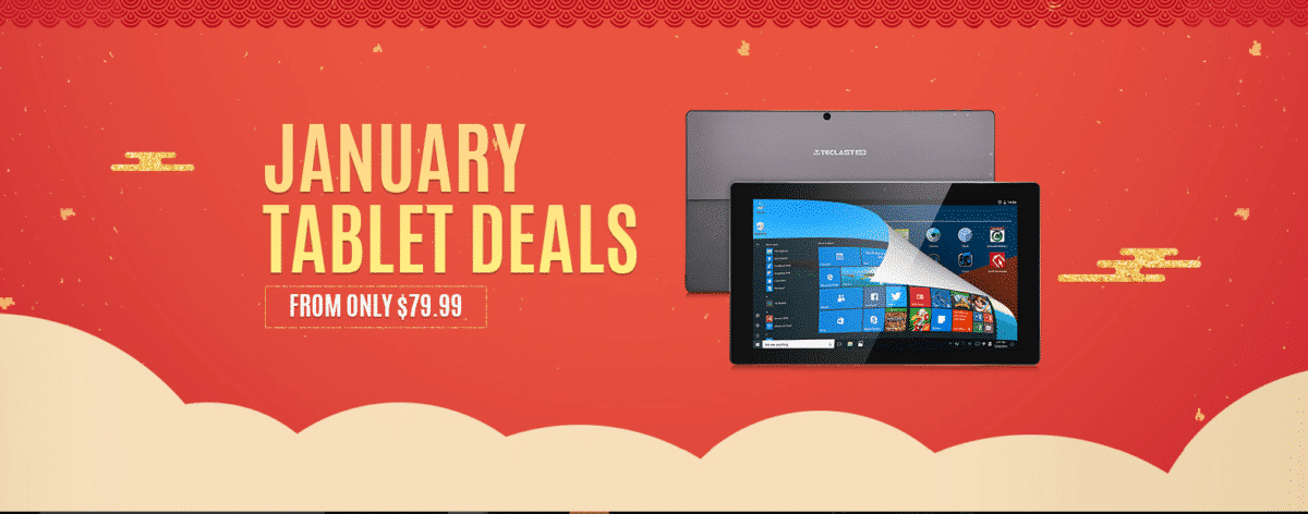 January Tablet Deals