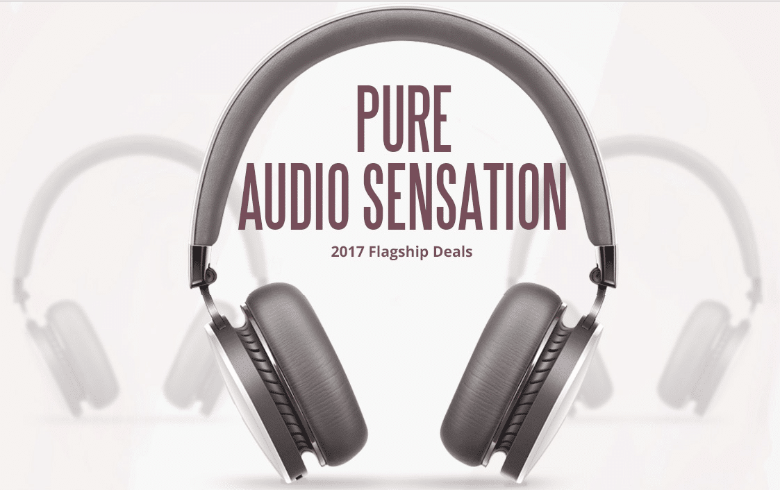 Gearbest's Pure Audio Sensation 2017 Flagship dea
