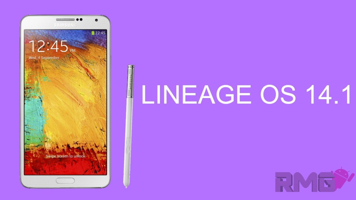 Lineage Os 14.1 On Galaxy Note 3