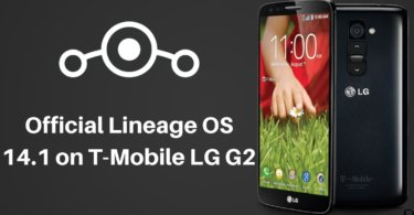 official Lineage OS 14.1 on T-Mobile LG G2-min
