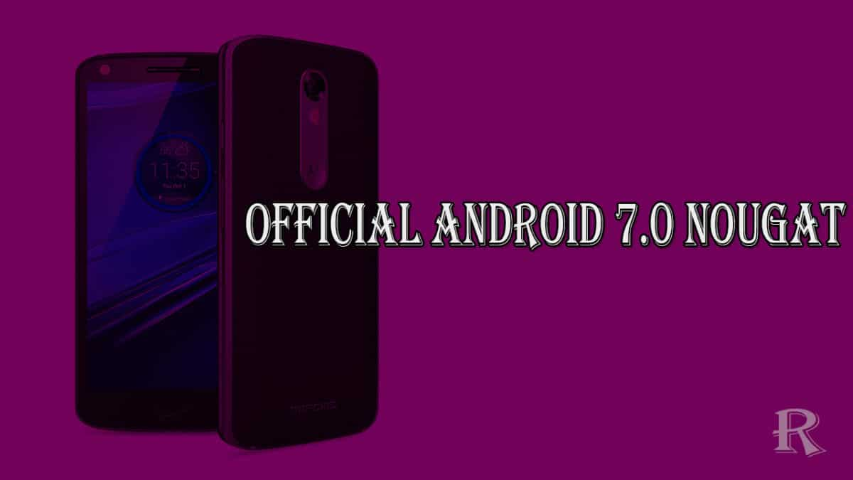Motorola Droid Turbo 2 Receives Official Android 7.0 Nougat OTA Update