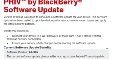 Blackberry PRIV March update