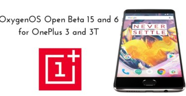 Open Beta 15 and 6 for OnePlus 3 and 3T