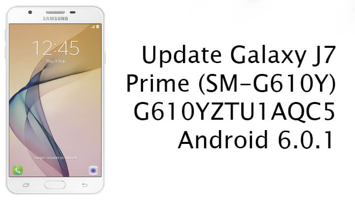 Update Galaxy J7 Prime to Android 6.0.1
