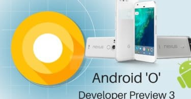 Android O 8.0 Developer Preview 3