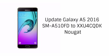 update Galaxy A5 2016 to Nougat