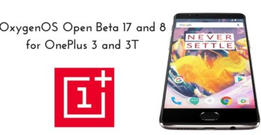 Open Beta 17 and 8 on OnePlus 3 and 3T