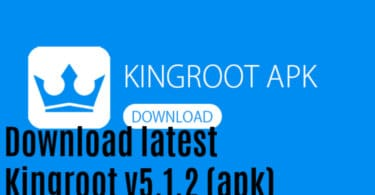 Download latest Kingroot v5.1.2 (apk)
