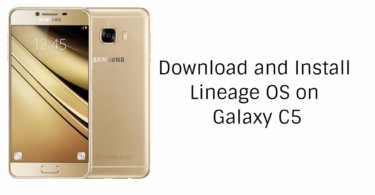 Lineage OS On Galaxy C5