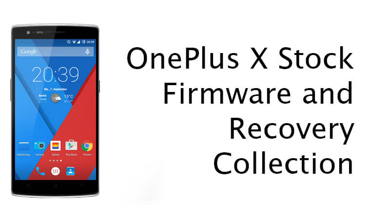 OnePlus One Stock Firmware and Recovery Collection (Download)