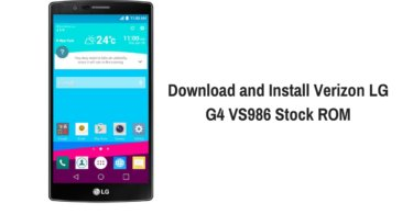 Download and Install Verizon LG G4 VS986 Stock ROM