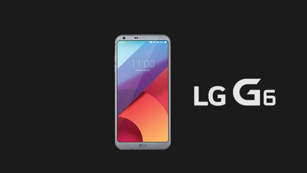 Verizon LG G6 VS988 Stock ROM / Firmware