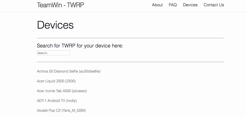 How To Download Latest TWRP Recovery For Any Android Devices