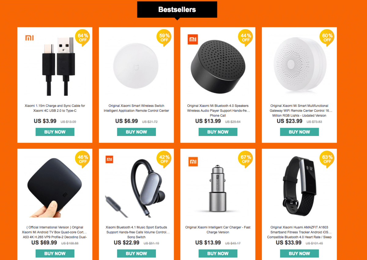 Best Seller - YoShop's Xiaomi promotional Flash Sale