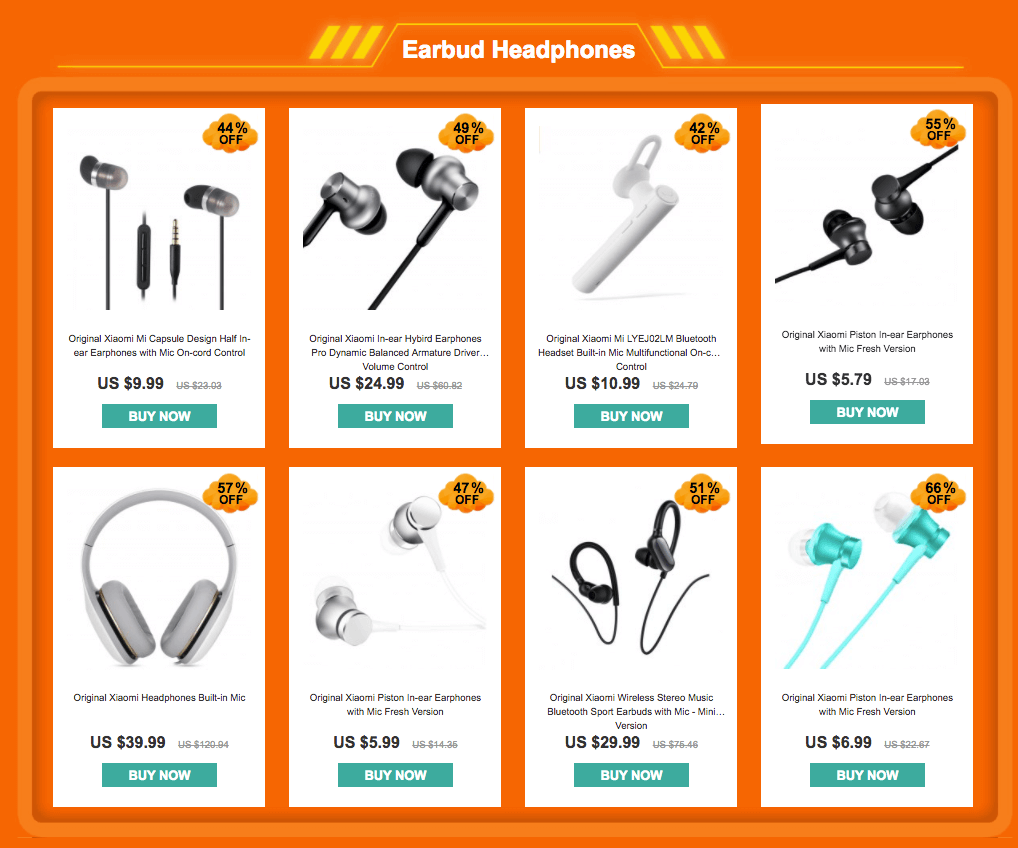 Earbuds - Best Seller - YoShop's Xiaomi promotional Flash Sale