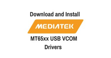 Download and Install MediaTek MT65xx USB VCOM Drivers