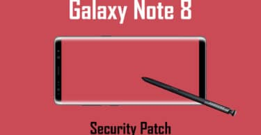Galaxy Note 8 to latest October 2017 Security Patch Update