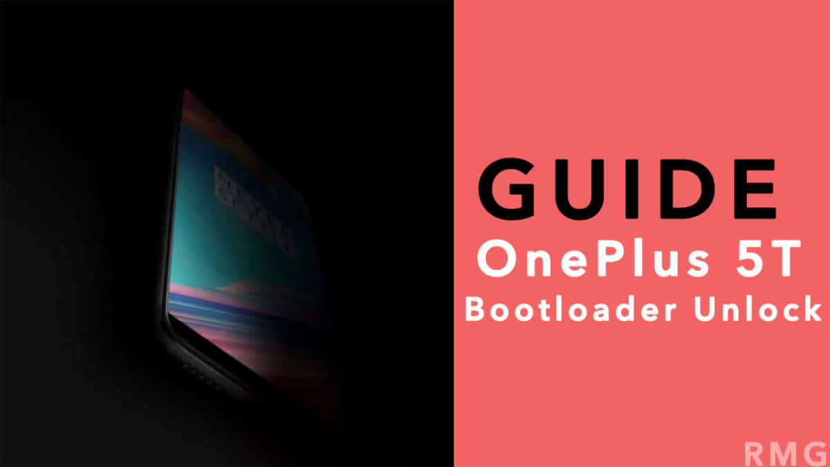 Unlock the Bootloader On OnePlus 5T