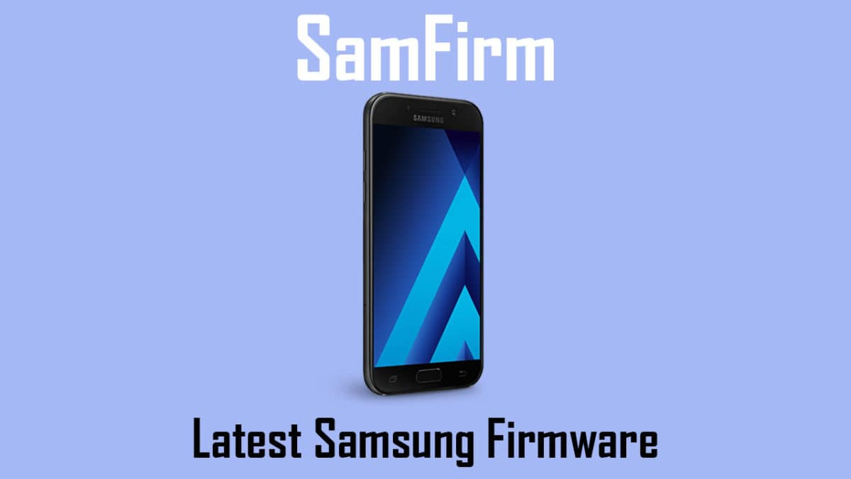 Download Samsung Galaxy Full Firmware Files Using SamFirm