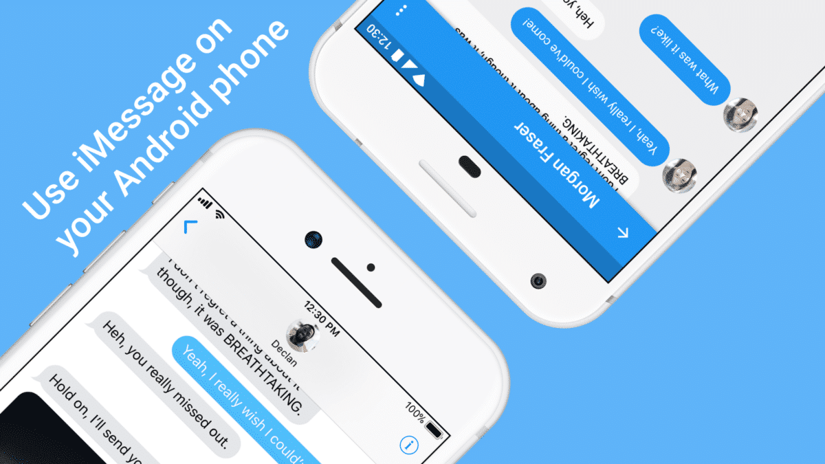 Get iMessage On Any Android Phone With AirMessage App
