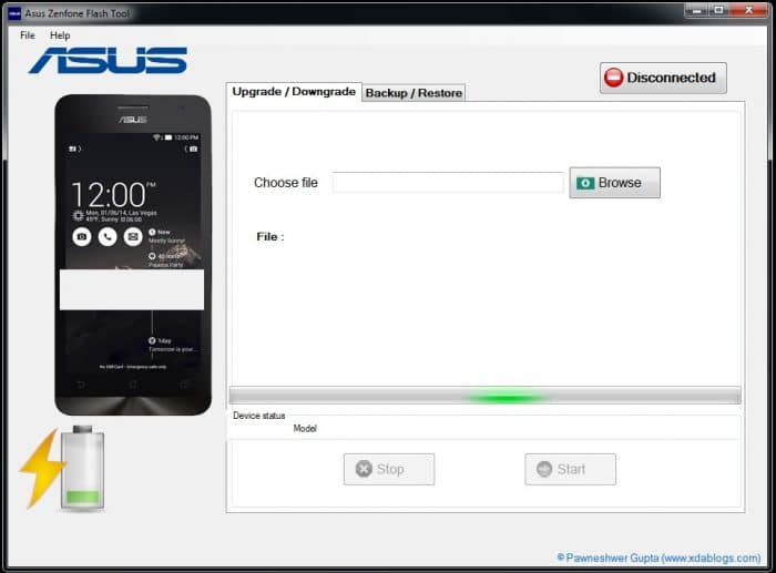 Download Asus Zenfone Flash Tool (All Versions)