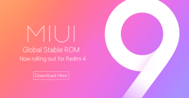 MIUI 9 for Redmi 4