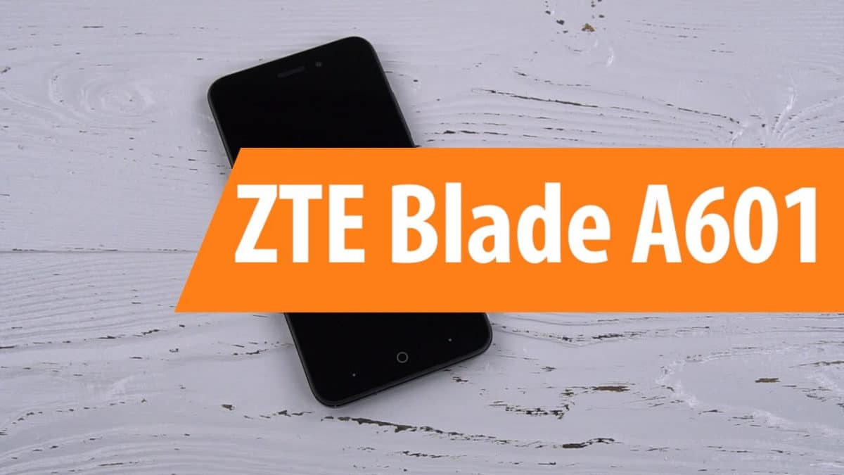 How To Install TWRP recovery and Root ZTE Blade A601 (Updated)