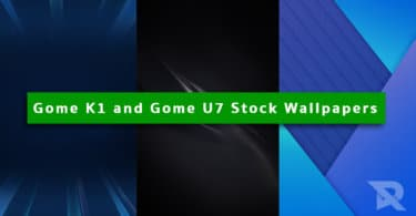 Gome K1 and Gome U7 Stock Wallpapers